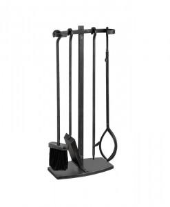 black-brushed-steel-hook-top-companion-set